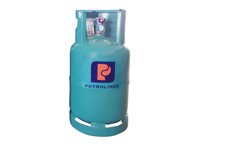 Hãng sản xuất:gas petrolimex  Đặc điểm vỏ bình : màu xanh ngọc  khối lượng: 12kg  đặc điểm nổi bật: lửa xanh tiết kiệm gas